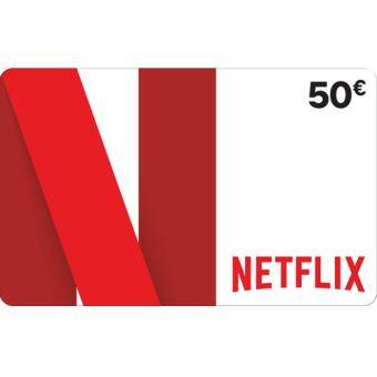 Code prépayé Netflix 50 €