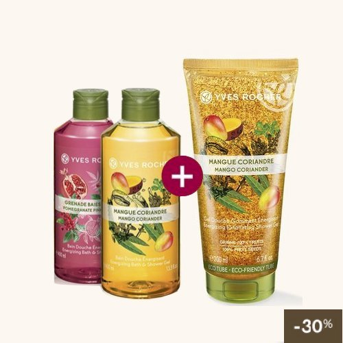 [PROMO] 2 BAINS DOUCHE + 1 GOMMAGE - Yves Rocher